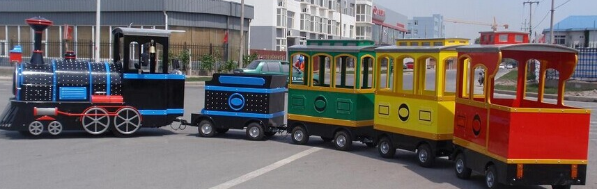 park trackless train ride cheap