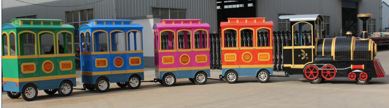 quality amusement park train ride cost