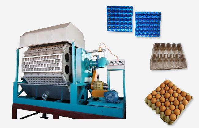 full automatic paper egg tray making machine