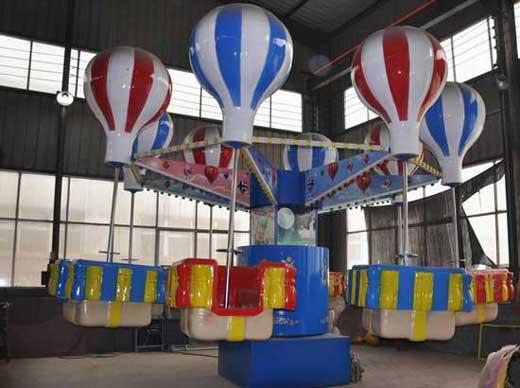 Fairground samba balloon rides