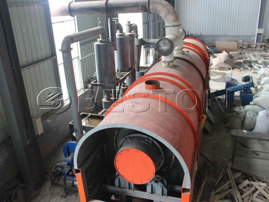 Beston Bagasse Charcoal Kiln