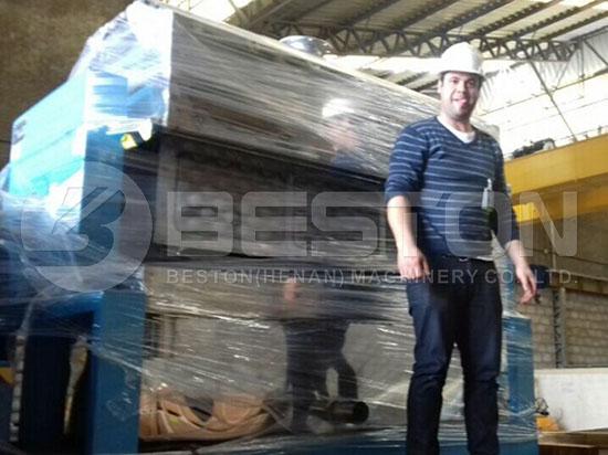 Apple Tray Making Machine in Brazil