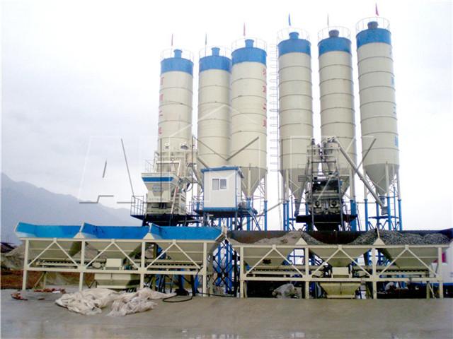 Concrete Batch Plant in China
