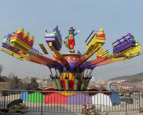 Amusement Park Techno Jump Rides