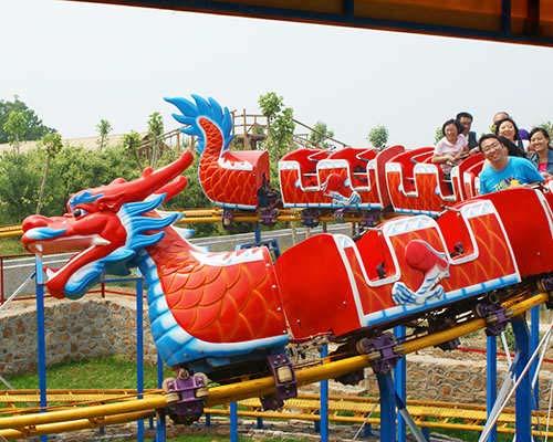 Dragon roller coasters