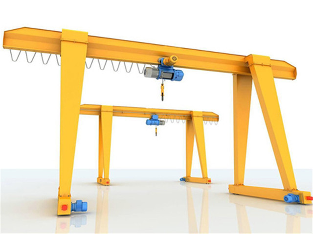 single beam gantry crane form China