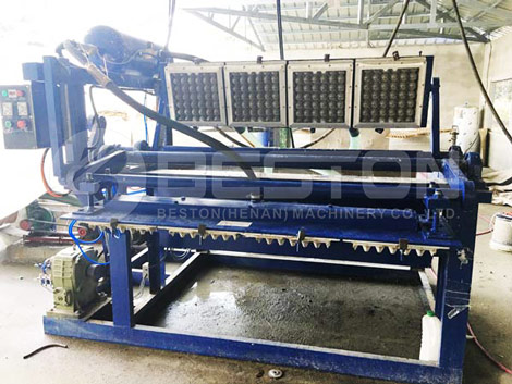 BTF 1 4 Egg Tray Making Machine In the Philippines